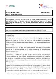 Ofício Circular nº 24/2007/DSAPOE