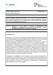 Ofício Circular nº 20/2007/DIR - Direcção Regional de Educação de ...