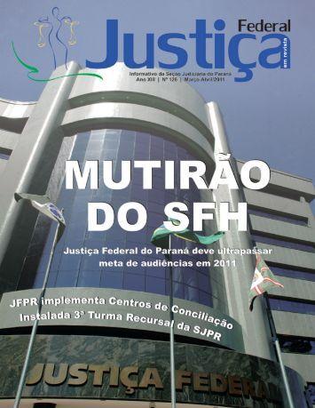 Ano XIII | Nº 126 | MARÇO-ABRIL/2011 - Justiça Federal