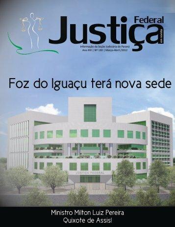 Abril e Maio de 2012 - Justiça Federal