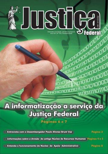 Fevereiro - Justiça Federal