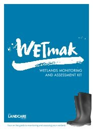WETLANDS MONITORING AND ASSESSMENT KIT - Landcare Trust