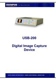 USB-200 launch manual - Olympus