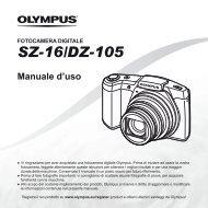 Manuale d'uso SZ-16/DZ-105 - Olympus - Europe