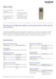 VN-4100, Olympus, Audio Recording