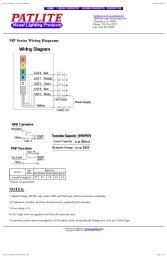 patlite corporation - mp series indicators - partsprocurement