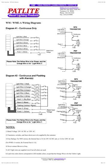 patlite met wiring diagram schematic diagrampatlite met wiring diagram simple wiring diagram site wiring color coding patlite met wiring diagram data