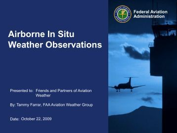 Airborne In Situ Weather Observations