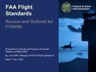 FAA Flight Standards - RAL
