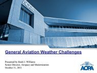 General Aviation Weather Challenges