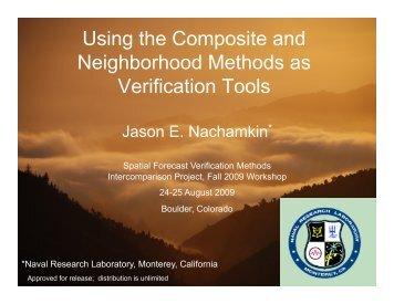 Using the Composite and Neighborhood Methods as ... - RAL