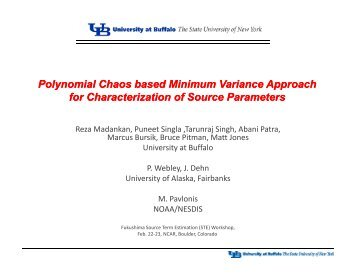 Polynomial Chaos based Minimum Variance Approach for ...