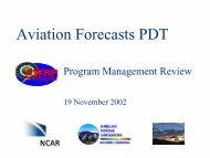 Aviation Forecasts PDT - RAL