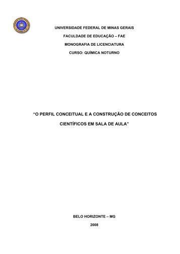 perfil conceitual ea construção de conceitos - cecimig ...