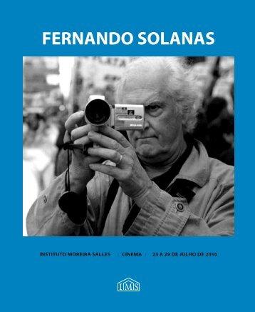 FERNANDO SOLANAS - Instituto Moreira Salles