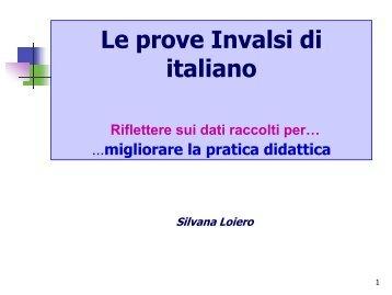 Le prove Invalsi di italiano - KidsLink