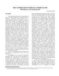 mecanismo imunitário da tuberculose síntese e atualização