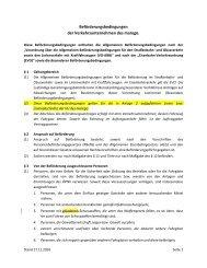 Allgemeine und Besondere ... - Veolia Transport