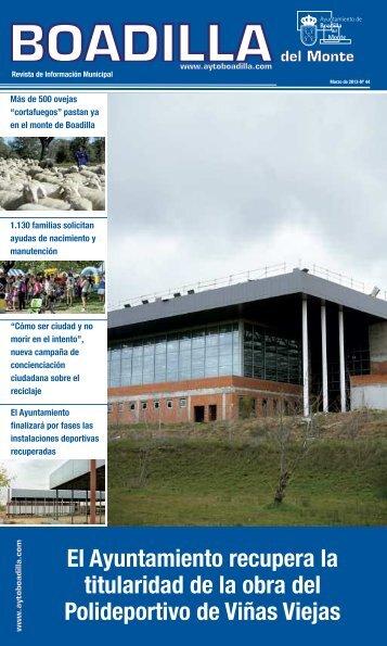 Descárguese la revista completa en formato PDF Marzo 2013