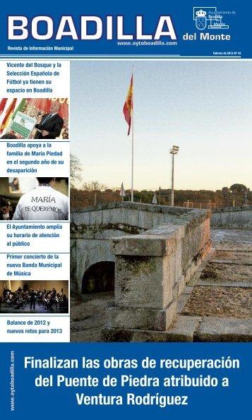Febrero 2013 - Ayuntamiento de Boadilla del Monte