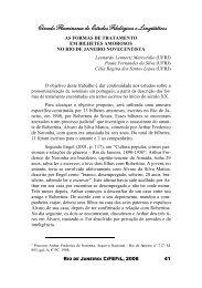Círculo Fluminense de Estudos Filológicos e Lingüísticos - CiFEFiL