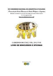 Livro de Minicursos e Oficinas - CiFEFiL