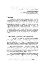 108. uma análise de discurso da lei 10.639
