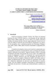 clarice lispector e a subversão do feminino - CiFEFiL