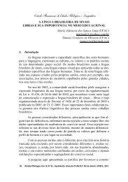 libras e sua importância no meio educacional - CiFEFiL