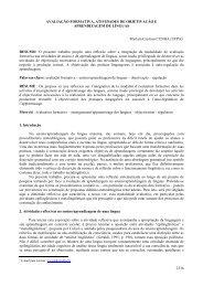 2336 AVALIAÇÃO FORMATIVA, ATIVIDADES DE OBJETIVAÇÃO E ...