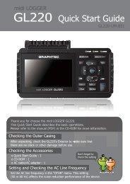 GL220 Quick Start Guide - Graphtec America Inc.
