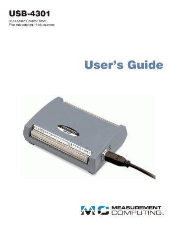 USB-4301 User's Guide