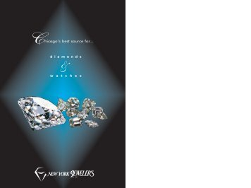 Hicago's Best Source For - New York Jewelers