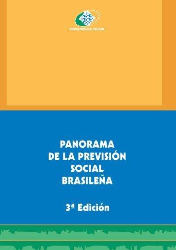 3ª Edición PANORAMA DE LA PREVISIÓN SOCIAL BRASILEÑA