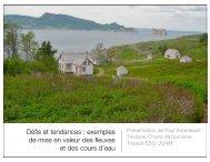 Présentation Fleuve Québec Maritime