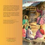 eventi calendario r.n.s 2011 - Rinnovamento nello Spirito Santo