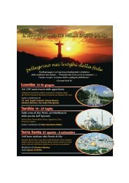 Pellegrinaggi 2008 - Rinnovamento nello Spirito Santo