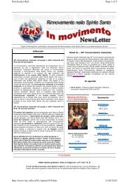 Page 1 of 5 NewsLetter RnS 21/05/2012 http://www.rns-italia.it/NL ...