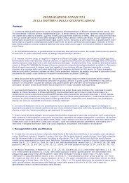 dichiarazione congiunta sulla dottrina della ... - RnS Lombardia