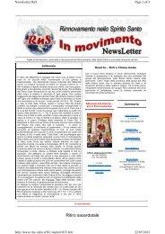 Ritiro sacerdotale - RnS Lombardia