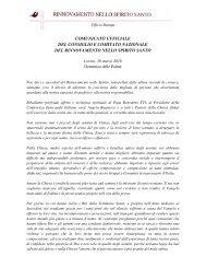 comunicato ufficiale del consiglio e comitato ... - RnS Lombardia