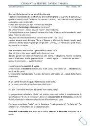 Insegnamento di Anna Teresa Francia Maria e ... - RnS Lombardia