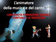 Slide Gianfranco Pesare L'animatore del canto - RnS Lombardia