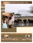 International Known Artist, Carolyn Nelson, AAWA, at LOVBOTSWANA Maun, Botswana - Page 3