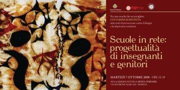 scarica l'invito - Comune di Modena