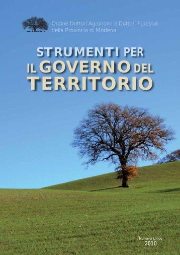 """Brochure """"Strumenti per il governo del territorio"""" - Io sono"""