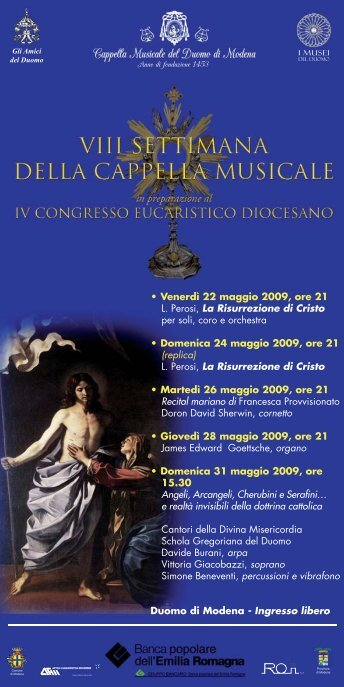 progr sala 2.indd - Io sono - Comune di Modena