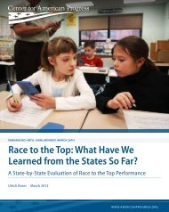 Race to the Top: What Have We Learned from the States So ... - osse