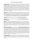 Syllabus V 1.3 PHY 2054C Section 0002 Physics 2, Spring 2012 ... - Page 5