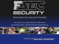 Einen kleinen Auszug aus unserer Arbeit! - F-SEC Security